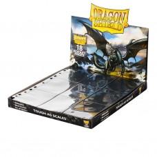 Dragon Shield 18-Pocket Pages Black 50