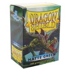 Dragon Shield Matte Green 100