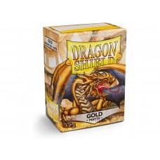 Dragon Shield Matte Gold 100