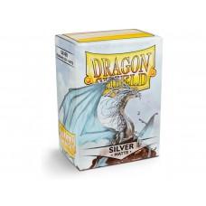 Dragon Shield Matte Silver 100