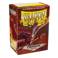 Dragon Shield Matte Crimson 100