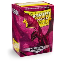 Dragon Shield Matte Magenta 100