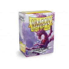 Dragon Shield Matte Clear Purple 100