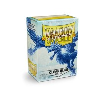 Dragon Shield Matte Clear Blue 100