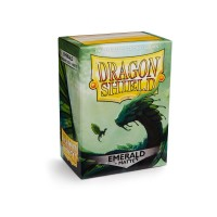 Dragon Shield Matte Emerald 100