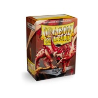 Dragon Shield Matte Ruby 100
