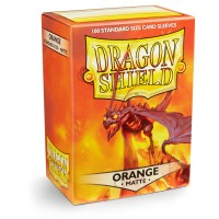 Dragon Shield Matte Orange 100