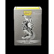 Dragon Shield Matte Art Loki 100