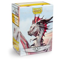 Dragon Shield Art Qoll 100