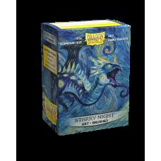 Dragon Shield Brushed Art Starry Night 100