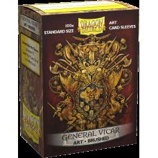 Dragon Shield Brushed Art General Vicar: Coat of Arms 100