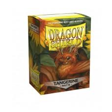 Dragon Shield Matte Tangerine 100