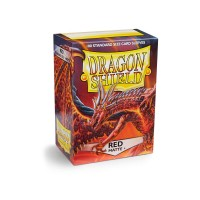 Dragon Shield Matte Red 100
