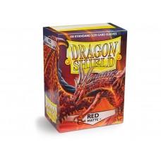Dragon Shield Matte Red 100