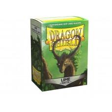 Dragon Shield Matte Lime 100
