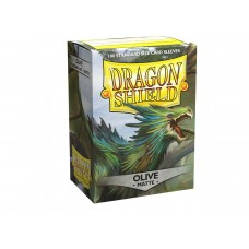 Dragon Shield Matte Olive 100