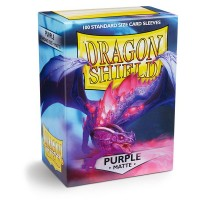 Dragon Shield Matte Purple 100