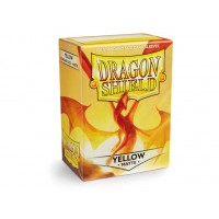 Dragon Shield Matte Yellow 100