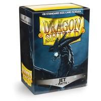 Dragon Shield Matte Jet 100