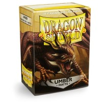 Dragon Shield Matte Umber 100