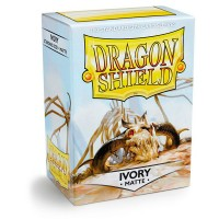 Dragon Shield Matte Ivory 100