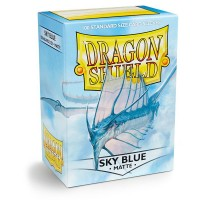 Dragon Shield Matte Sky Blue 100