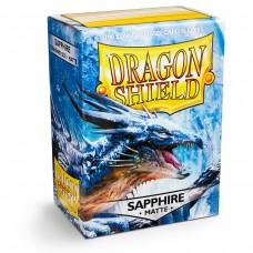 Dragon Shield Matte Sapphire 100
