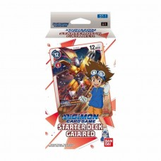 Digimon Card Game Starter Deck Gaia Red