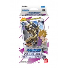 Digimon Card Game Starter Deck Venomous Violet