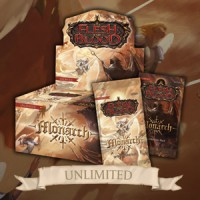 Flesh and Blood: Monarch Unlimited Booster Display