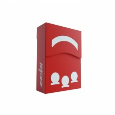 Gamegenic Keyforge Aries Deck Box Red
