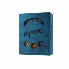 Gamegenic Keyforge Deck Book Blue