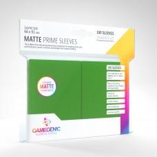 Gamegenic Matte Prime Sleeves 100 Green