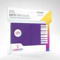 Gamegenic Matte Prime Sleeves 100 Purple