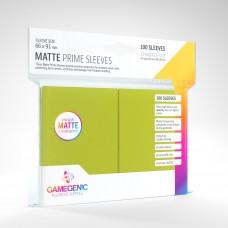 Gamegenic Matte Prime Sleeves 100 Lime Green