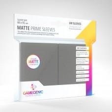 Gamegenic Matte Prime Sleeves 100 Dark Gray