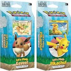 Pokémon Let's Play Pikachu & Eevee Deck Pack