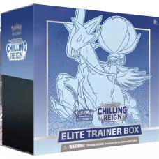 Pokémon Sword & Shield: Chilling Reign Elite Trainer Box Ice Rider Calyrex