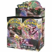 Pokémon Sword & Shield: Rebel Clash Booster Box