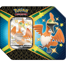 Pokémon Shining Fates Cramorant V Tin
