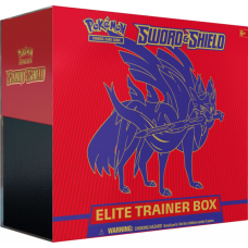 Pokémon Sword & Shield Elite Trainer Box - Zacianta