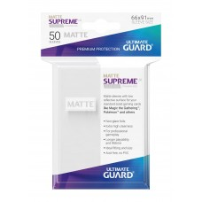 Ultimate Guard Supreme UX Sleeves Matte White 50