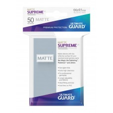 Ultimate Guard Supreme UX Sleeves Matte Transparant 50