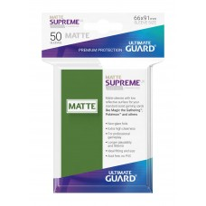 Ultimate Guard Supreme UX Sleeves Matte Green 50