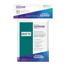 Ultimate Guard Supreme UX Sleeves Matte Petrol Blue 50