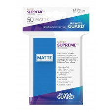 Ultimate Guard Supreme UX Sleeves Matte Royal Blue 50