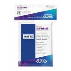 Ultimate Guard Supreme UX Sleeves Matte Blue 50