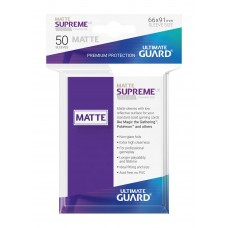 Ultimate Guard Supreme UX Sleeves Matte Purple 50