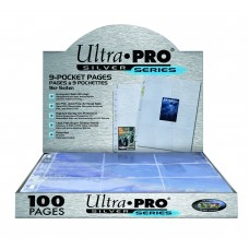 Ultra Pro Silver 9-Pocket Pages 100