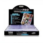 Ultra Pro Platinum 9-Pocket Pages 100 11-hole